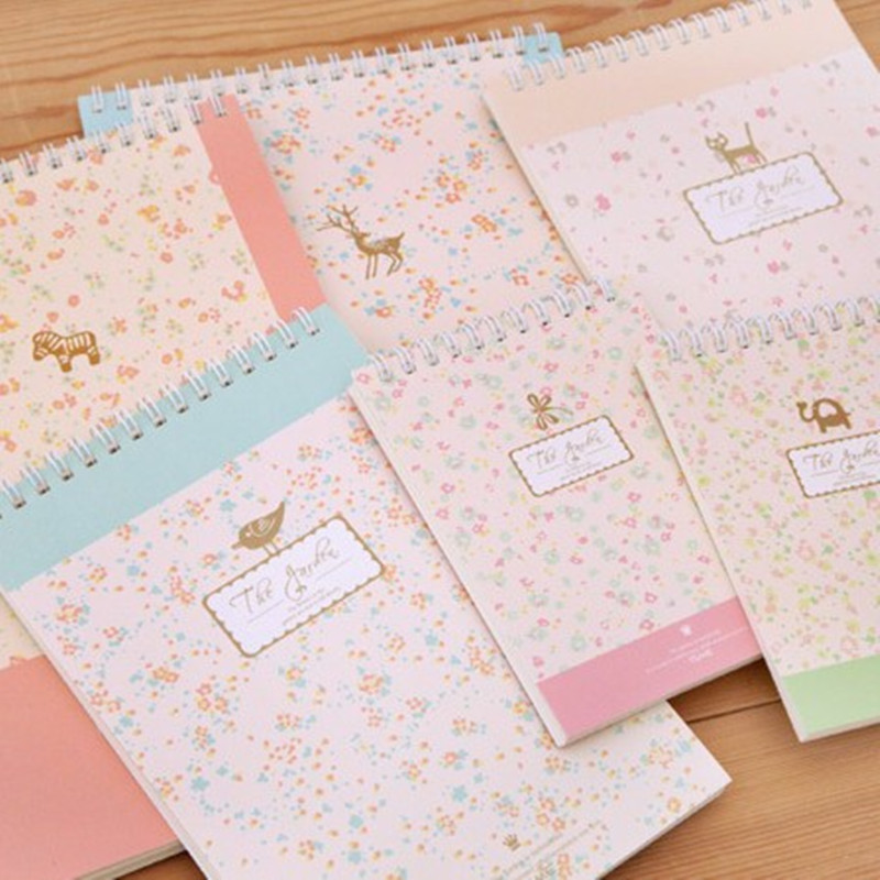 kawaii Stationery blocchetto per appunti carino il quaderno per studenti bobina quaderno per appunti tsmip rilakkuma panda Notebook floreale