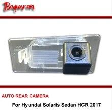 Para Hyundai Solaris Sedan HCR 2017 Cámara de Reserva Del Coche/HD CCD Night Vision Auto Inversa de Visión Trasera de Aparcamiento Cámara NTSC PAL