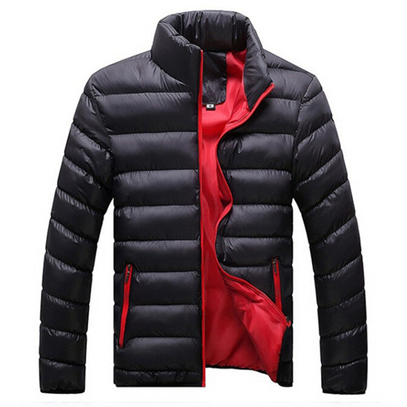 New autumn winter Ultra Light cotton Down Jacket Men fashion casual Jackets And Coats Parka men outwear clothing size M~5XL