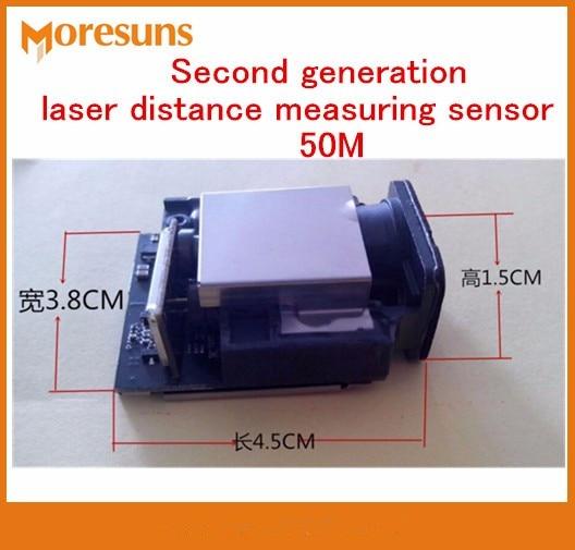 Fasr Бесплатная доставка второго поколения лазерного дальномера Сенсор 50 м + 1 мм Максимальная частота 20 Гц лазерной локации сенсор модуль