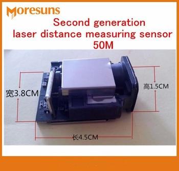 Fasr Free Ship Second Generation laser Distance Measuring Sensor Module 50M +-1mm Max frequency 20HZ Laser Ranging Sensor