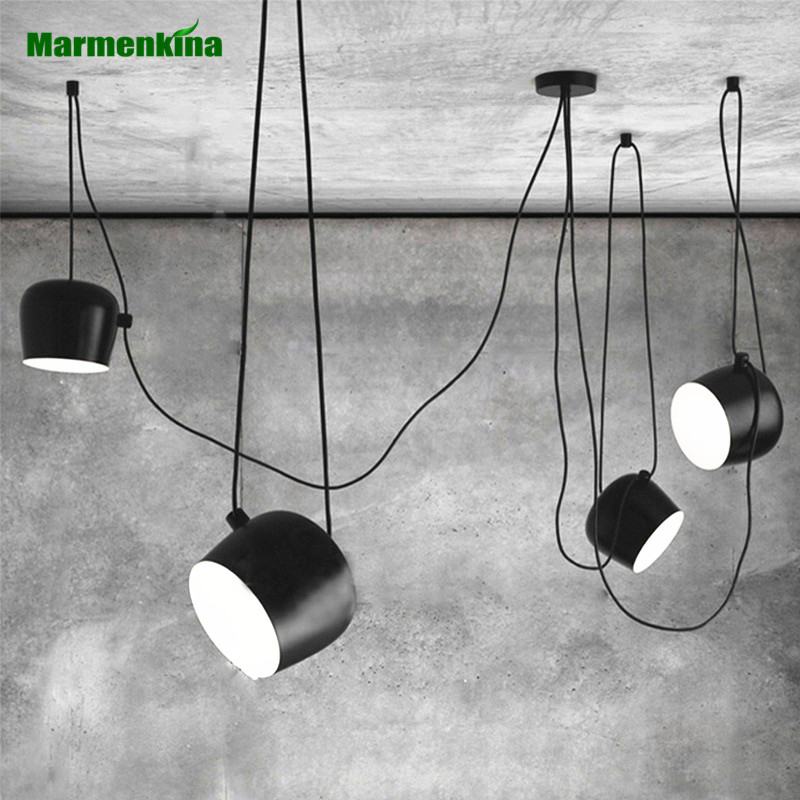 Nordic simple DIY creative personality chandeliers restaurant cafes modern indoor lights clothing store LED drums pendant lampNordic simple DIY creative personality chandeliers restaurant cafes modern indoor lights clothing store LED drums pendant lamp
