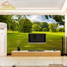 Encargo de la foto wallpaper 3d naturaleza paisaje dormitorio sala de estar sofá papel tapiz de fondo gran mural 3d papeles de la pared decoración para el hogar