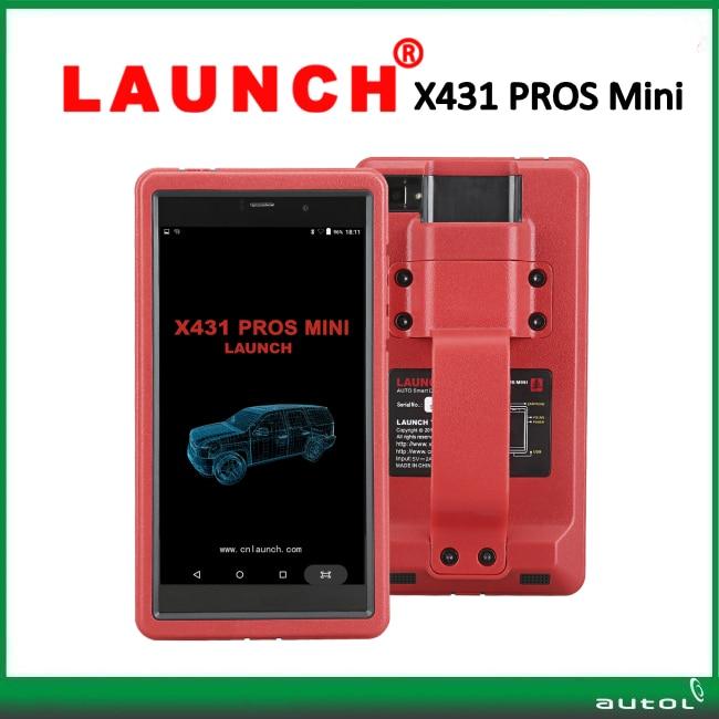 Launch X431 ProS Mini new released diagnostic tool X-431 PROS mini pad computer multi-language obd2 diagnostic scanner
