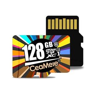 Image 2 - CeaMere Micro SD Karte Class10 UHS 1 8GB Class6 16 GB/32 GB U1 64 GB/128 GB /256GB U3 Speicher Karte Flash Speicher Microsd für Smartphone