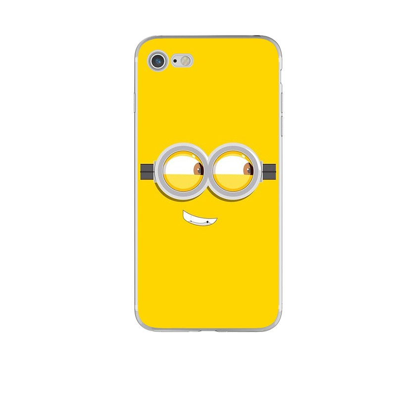 New Funny Minions Thin Silicone Phone Cases for iPhone