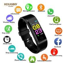 HIXANNY Smart Uhr Frauen Herz Rate Monitor bluetooth smartwatch fitness z nadajnikiem Sport Uhr ios android + BOX apple watch men