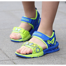 5822e6629d46 PINSEN 2019 Spiderman Kids Sandals for Boys Sandals Fashion Summer Children  Shoes Baby Boy Closed Toe