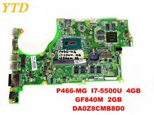 Original for ACER P466-MG laptop motherboard P466-MG I7-5500U 4GB GF840M 2GB DA0Z8CMB8D0 tested good free shipping