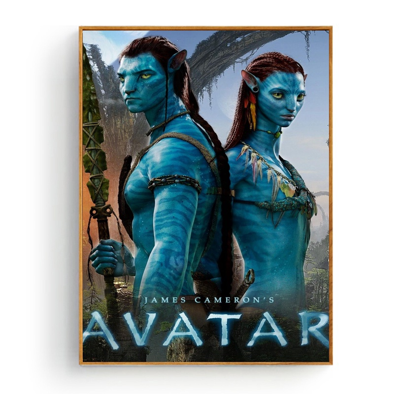 Avatar Movie Poster: Avatar Movie Silk Fabric Poster And Print Wall Art Picture
