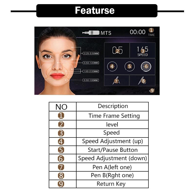 Máquina de maquillaje permanente de alta calidad digital Artmex V8 - Tatuaje y arte corporal - foto 5