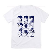 Stil Männer Frauen JoJo Bizarre Adventure All Star T-shirt Design Manga Anime T-shirt cosplay