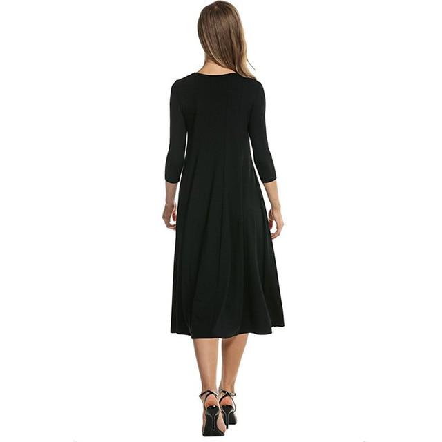 2018 Women Linen Vintage Dress Patchwork Casual Loose Boho Long Maxi Dresses Plus Size 2XL 3XL Large Sizes Dresses  1