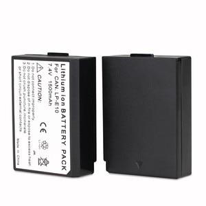 Image 5 - Multi Power Batterie Griff Für Canon 1100D 1200D 1300D EOS Rebel T3 T5 T6 EOS Kuss X50 DSLR Kamera + 2 stücke LP E10 + 2 stücke Objektiv Tuch