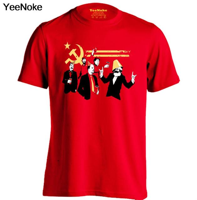b7d2f861 Communist Party Mens & Womens High quality Tops Fashion creative T Shirt