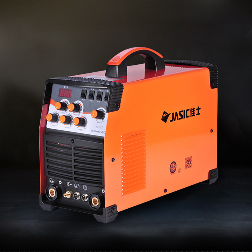 High Quality WSME-<font><b>200</b></font> <font><b>AC</b></font>/<font><b>DC</b></font> <font><b>TIG</b></font>/MMA Square Wave Pulse Inverter Welder 220-240V image