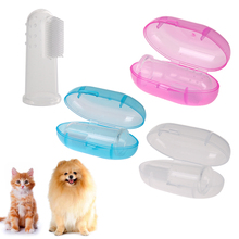 Pet Finger Toothbrush Dog Brush Teddy Teeth Care Dog Cat Cleaning Toothbrushes For Dogs Pet Supplies Drop shipping