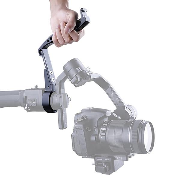 Gimbal Accessories Inverted Handle Sling Grip Neck Ring Mounting Extension Arm for DJI Ronin S Zhiyun Crane 2/Crane Plus AK2000