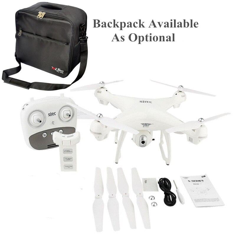 SJRC S70W двойной gps Follow Me WI FI FPV Радиоуправляемый Дрон вертолет 400 м расстояние HD камера 1080P gps положение quadcopter в X183 x21
