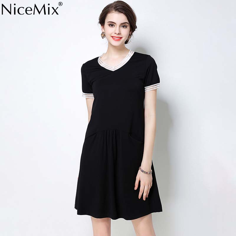 NiceMix 2019 Maternity clothing clothes for pregnant women maternity dresses summer
