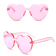 1pcs Colorful Transparent Round/Heart Super Retro Sunglasses, Color Chromatherapy Glasses Light Therapy Glasses