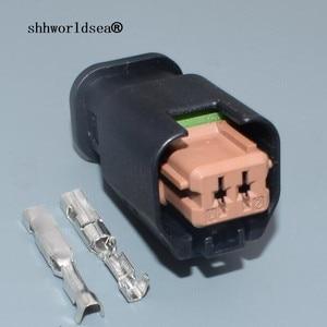 Shhworld 2/5/10/30/50 2-контактный Автомобильный датчик, штекер, автоматическая электрическая проводка, электрический кабель, соединитель 1801175-6 для ...