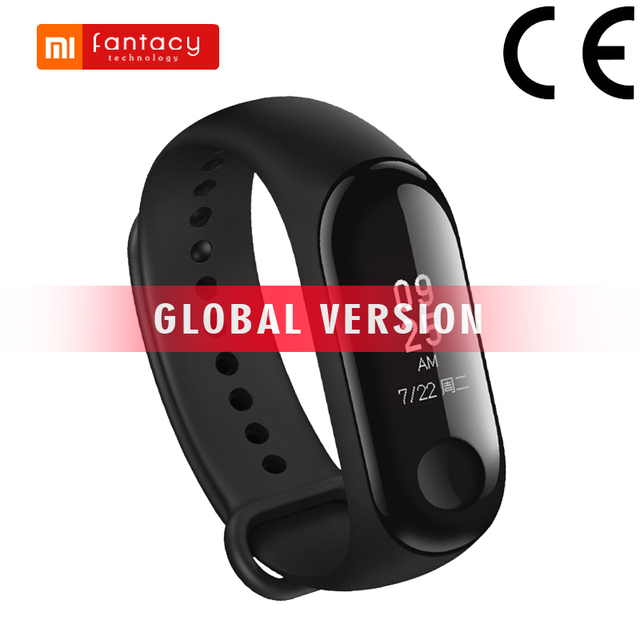 Global Version Xiaomi Mi Band 3 Miband 3 Smart Bracelet Fitness Tracker OLED Touch 50m Waterproof For Xiaomi Mi 9 Mobile Phone