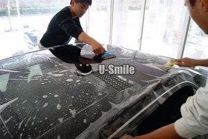 Image 1 - 3 層光沢のある PPF クリア車の塗装保護ビニールフィルムラップサイズ: 1.52*15 メートル/ロール