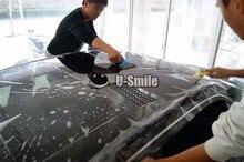 3 שכבות מבריק PPF צבע מכונית מגן ויניל סרט לעטוף גודל: 1.52*15 m/Roll