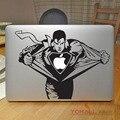 """Сердиться Супермен Смолвиля Виниловая Наклейка Для Ноутбука для Apple Macbook Pro Air Retina 12 """"11"""" 13 """"15"""" Mac Обложка Кожи для Ноутбука Наклейка"""