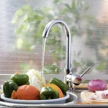 Tiger ran hot and cold Caipen kitchen faucet single hole faucet rotation unleaded drawing sink faucet