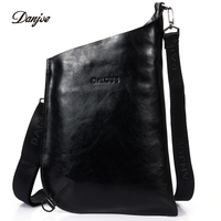 DANJUE Genuine Leather Men Messenger Bag Italian Style Crossbody Bags New Brand Leisure Man Bag Hobos Style Daily Bag Men Cluth