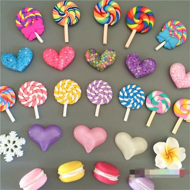 3 шт./компл. Lollipop Макарон Магнит на холодильник путешествия сувенир для детей Красочные магниты на холодильник Сообщение Стикеры дома Аксессуары
