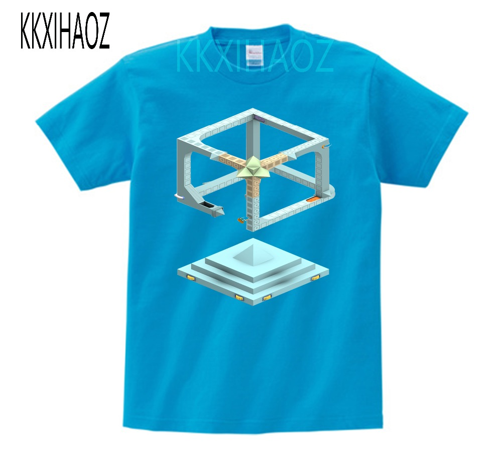 Summer short sleeved cotton tops boys and girls love puzzle games T Shirts children 39 s clothing Evo Explores kids clothes MJ in T Shirts from Mother amp Kids