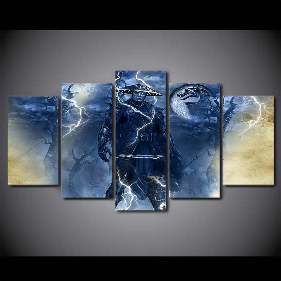 5 pieces / set of Movie Poster Series wall art for wall decorating home Decorative painting on canvas framed/FREE ART-Five-39