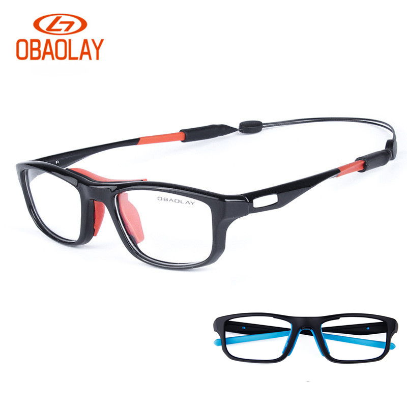 24g Ultra-light TR90 Unisex Unti-shocking Basketball Glasses Protective Training Sports Goggles Sunglasses Eyewear Optical Frame