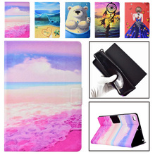 Case For Apple iPad Mini 1 2 3 4 7.9 inch Smart Cover Funda Tablet Silicone PU Leather 3D Painted Stand Capa Skin Shell Coque цена 2017