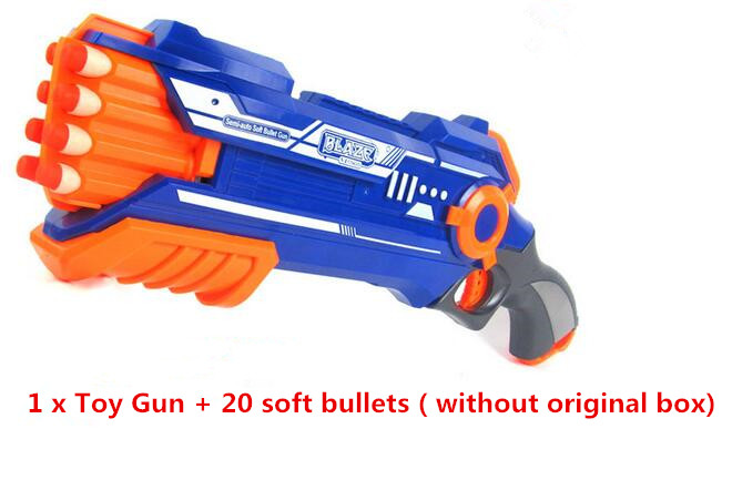 New Pistol Gun Plastic Toy Gun Sniper Rifle Orbeez Arme Blaster With 12 Darts Kids Toys