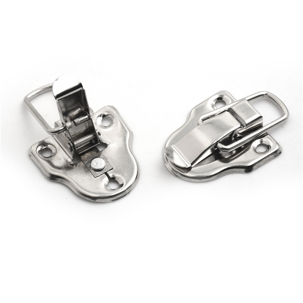 2Pcs/Lot 40*56MM Vintage Jewelry Hasps Latches Decorative Suitcases Hasp Latch Buckle Clasp