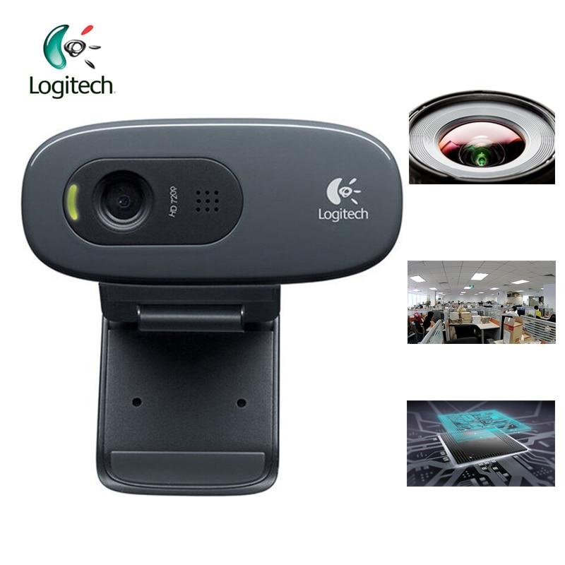 Logitech C270 HD Vid 720P վեբ-խցիկ Micphone USB 2.0 - Համակարգչային արտաքին սարքեր - Լուսանկար 3