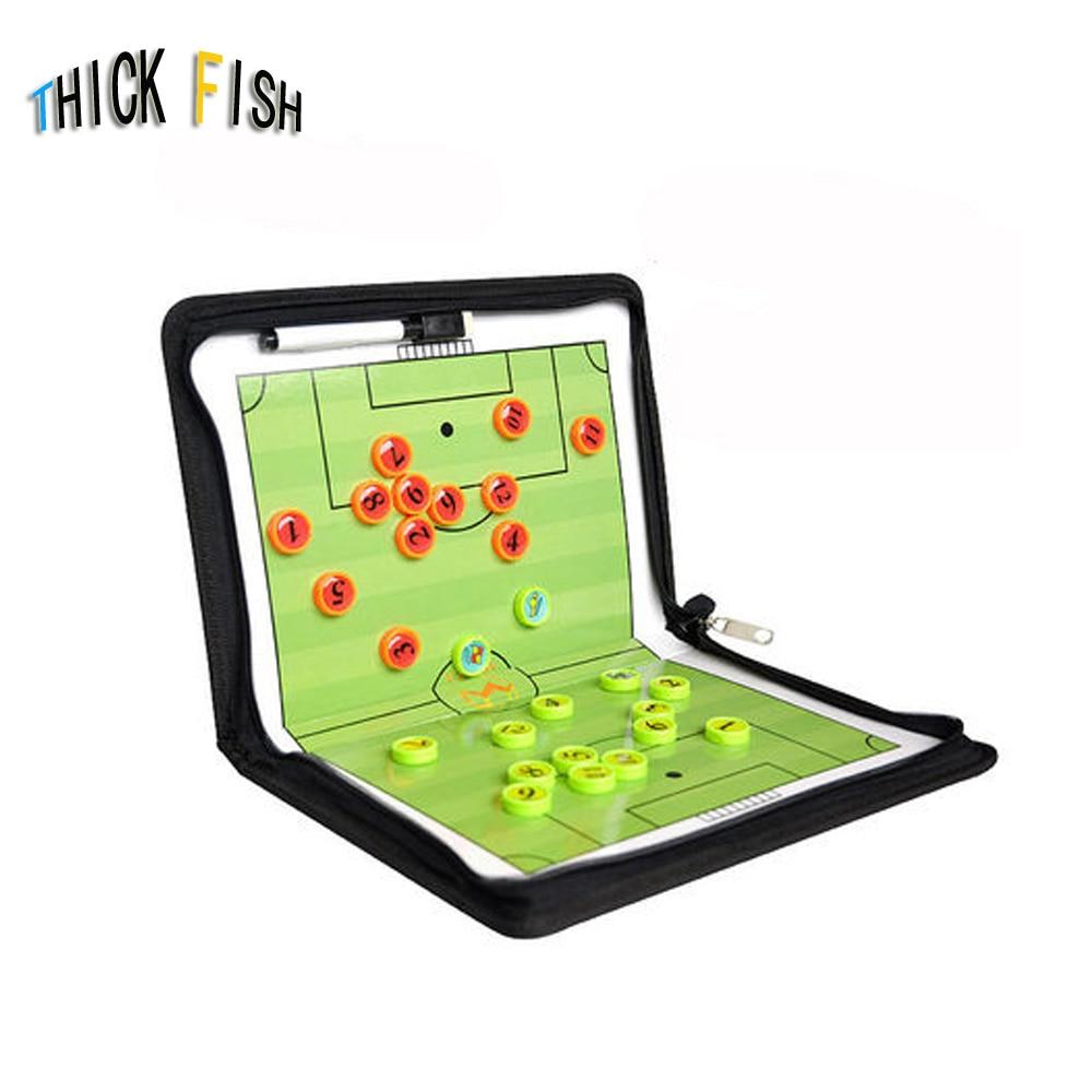 <font><b>football</b></font> tactical board futsal board Portable Tactic Coaching Board Folding Magnetic Coaching Training Board Tactic Soccer