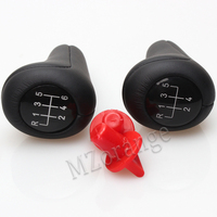 Car Gear Shift Knob Real Leather 5 Speed 6 Speed For BMW M Sport 1 3