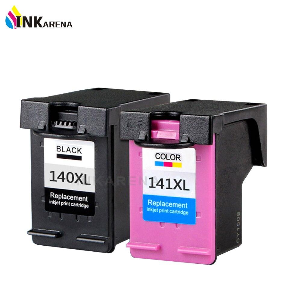INKARENA cartucho de tinta remanufacturada de HP140 141 XL D4263 D4363 C4283 C4483 C4583 C5283 D5363 impresora de inyección de tinta