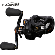 TSURINOYA HE-150 6.6:1 Low Profile Baitcasting Reel Left Proper Hand 2 Extremely Gentle Spool Saltwater Surf Baitcaster Fishing Reel