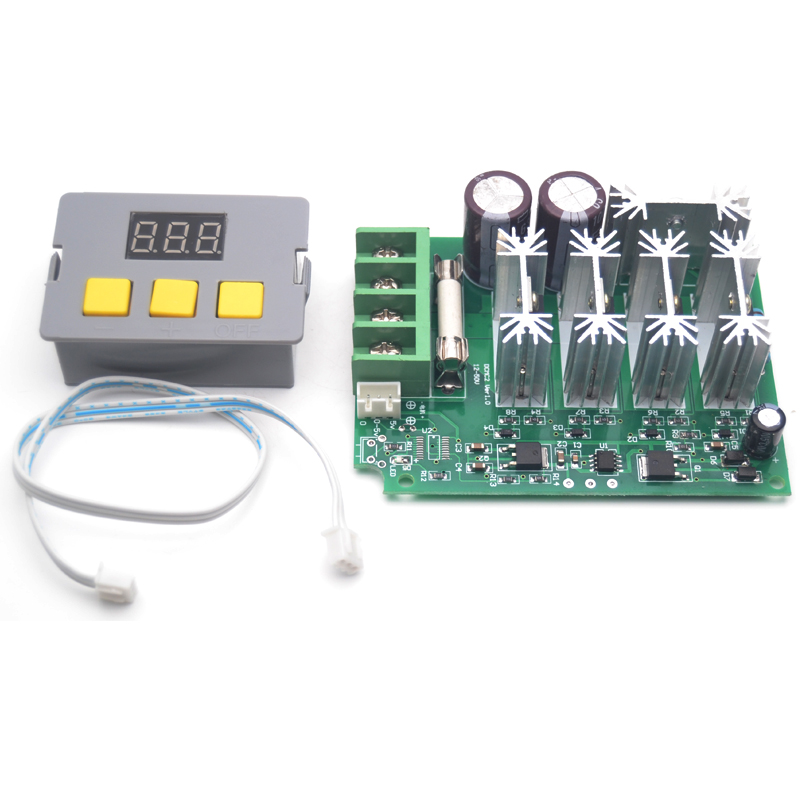 Digital DC Motor PWM Speed Control Switch Governor 12-30V 10A High Efficiency
