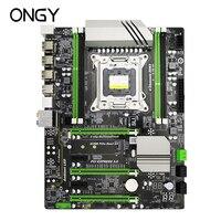 Ongy X79 6M Motherboard LGA 2011 DDR3 i7 32GB ATX SATA3.0 X79 6M Main Board PCI E NVME M.2 Motherboard Processor 32G ddr 3