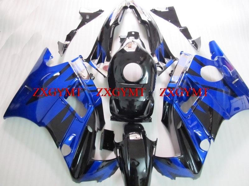 Motorcycle Fairing for CBR600 F2 1991 - 1994 Bodywork CBR600 F2 1993 Blue Black Motorcycle Fairing CBR600 F2 1992Motorcycle Fairing for CBR600 F2 1991 - 1994 Bodywork CBR600 F2 1993 Blue Black Motorcycle Fairing CBR600 F2 1992