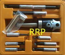 Stożek MT4, F1-12 50mm głowica wiercąca z chwytem MT4 i 9 sztuk zestaw wytaczaków 12mm, głowica wiercąca, najlepsza jakość