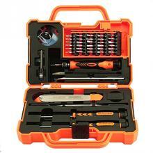 45 in 1 Electronics Repair Tool Kit Multi Bits Screwdriver Set with Tweezers Spudger for Laptop Cellphone Tablet Repair