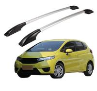 FUWAYDA 1.4M Roof Rack Rails Bar Luggage Carrier Cross top Boxes Aluminum alloy For Honda Fit 2004 2006 2007 2008 2011 2012 2014